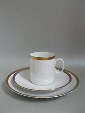 Thomas Porzellan Medaillon Gold Kaffeegedeck dreiteilig Gedeck 3 Teile mehrfach
