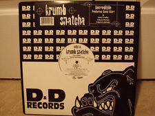 "KRUMB SNATCHA + GANG STARR - INCREDIBLE (12"")  2002!!  RARE!!  GURU + DJ PREMIER"