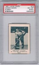 1952 Laval Dairy Subset Hockey Card Quebec Aces #15 Danny Nixon Graded PSA 6MC