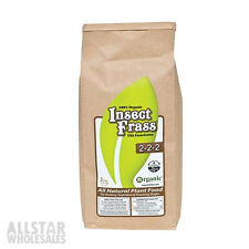 Insect Frass 2lbs 2-2-2 Organic Nutrient Chitin Plant Food Fertilizer Guano Veg