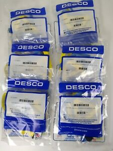 6 Pc Lot DESCO 17272 Large Full Coverage Non-Marring Foot Grounder Wholesale Lot