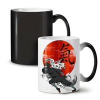 Katana Ninja NEW Colour Changing Tea Coffee Mug 11 oz | Wellcoda