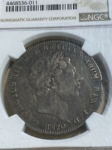 1820 LX Great Britain Crown Graded VF25 by NGC!!