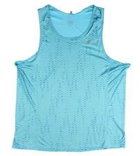 NWT Nike Men's Dri-Fit Miler Fuse Running Singlet Tank Blue M Style 849929