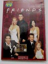 DVD Film Friends Le grandi serie Tv Sorrisi e Canzoni Stagione 10 Episodi 17-18