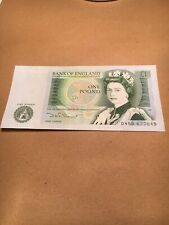 BANK OF ENGLAND £1 note  - UNC - PREFIX DW50 677849