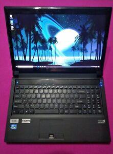 IBUYPOWER Sager Clevo P150EM laptop I7-3720qm 2.6-3.6Ghz 12GB 512GB AMD RX 560