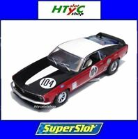 SUPERSLOT FORD MUSTANG BOSS 302 #104 GARDNER BRITISH SALOON SCALEXTRIC UK H3926