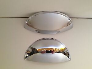 "Half Moon Headlight Covers 7 "" set of 2 Stainless Steel FREE SHIPPING"