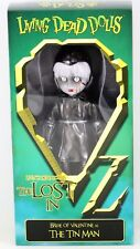 """Living Dead Dolls The Lost in Oz Bride Of Valentine as Tin Man 10"""" Doll Mezco"""