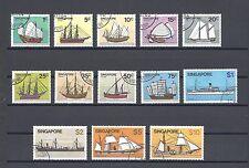 SINGAPORE 1980-84 SG 364/76 USED Cat £15