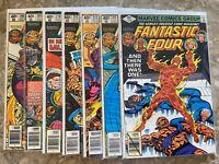 Fantastic Four 208,209,210,211,212,213,214 High Grade