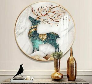 Round Photo Frame 30cm 40cm 50cm Room Decorative Hanging Picture Wall Decoration