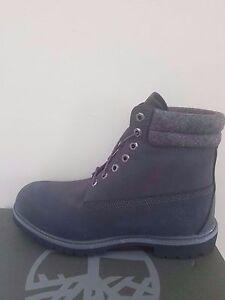 Timberland Men's 6-Inch Premium  Waterproof Gray Boots NIB