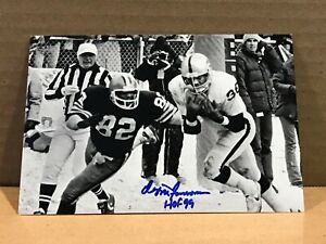 OZZIE NEWSOME Authentic Hand Signed Autograph 4x6 Photo - HOF CLEVELAND BROWNS