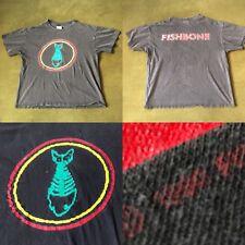 Vintage 1990 Fishbone Truth and Soul T-Shirt Men's XL Ska Punk Rock Metal 90's