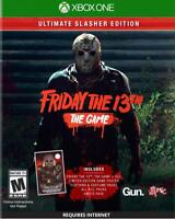 FRIDAY THE 13TH THE GAME XBOX ONE ULTIMATE SLASHER EDITION NEW! JASON VOORHEES