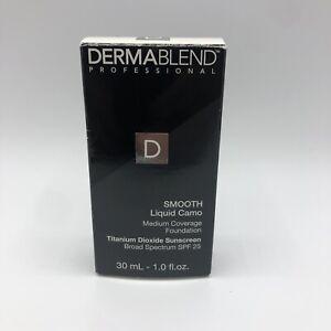 Dermablend Professional Smooth Liquid Camo Foundation Copper 1 Oz - SPF 25 -NEW