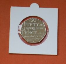 2005 PROOF 50p SAMUEL JOHNSON DICTIONARY FIFTY PENCE FROM A ROYAL MINT PROOF SET
