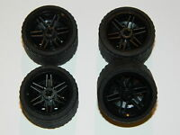 LEGO TECHNIC WHEELS set of 8 Tire 42 x 26 mm large tyre NEW car truck lorry