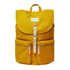 SALE EVENT! Sandqvist Roald Backpack Yellow & Natural Leather