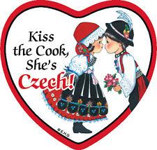 Tile Magnet: Czech Cook