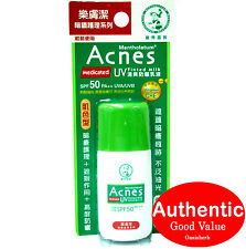 Mentholatum Acnes Medicated Sunscreen UV Tined Milk Primer Spf50 PA 30g