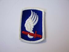 173rd AIRBORNE BRIGADE PATCH FROM BOX DATED 1966