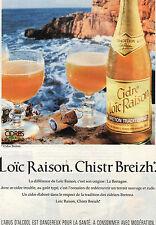 PUBLICITE ADVERTISING  1994    LOIC RAISON CHRISTR BREITH   cidre Breton