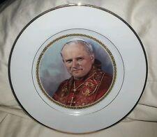 Pope John Paul II, 1984 Commemorative Canadian Papal Visit Plate