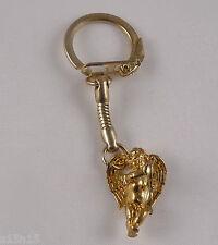 ANGEL CUPID WITH BOW LOVE Bronze Keychain Key ring key chain