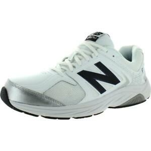 New Balance Mens 847 V3 Faux Leather Mesh Inset Walking Shoes Sneakers BHFO 5857
