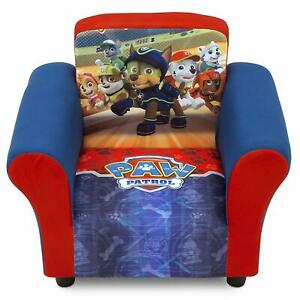 Silla Para Habitacion De Niños Paw Patrol Mueble Niños Chair For Kids Paw Patrol