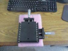 Parker Model Cr4421 Linear Slide Table St Cr Mic X Y With Lock Lt W2