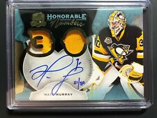 2016-17 The Cup Matt Murray Honorable Numbers Jersey Auto Penguins /30