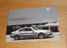 Mercedes E Class Saloon Price List 2008 E200 E220 E280 E320 CDI Sport Avantgarde