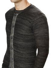 Diesel Crew Neck Button-Front Cardigans for Men