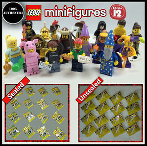 LEGO 71007 Retired Series 12 Minifigures -Complete New Set of 16 - Free Shipping