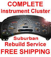 2000-2006 Chevy Suburban Instrument Gauge Cluster Speedometer Dash Panel Repair
