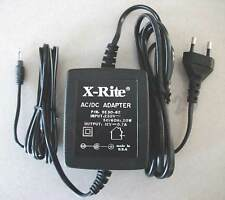 Euro Style AC Charger/Adapter For X-Rite Densitometers