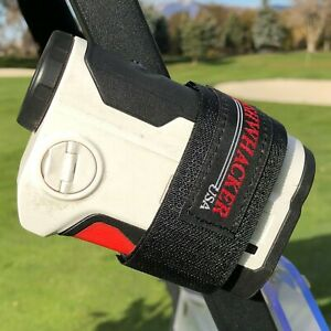 Magnetic Rangefinder Strap for Golf Cart Range Finder Holder Case Mount Stick