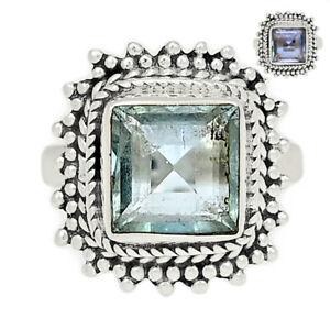 Handwork - Colorchange Alexandrite (Lab.) 925 Silver Ring s.6.5 BR95356