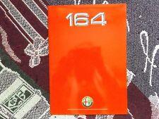 ALFA ROMEO 164 SALES BROCHURE - 1988?