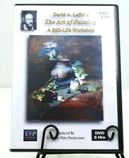 David Leffel's The Art of Painting - A Still Life Workshop 2 DVD Set
