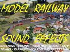 MODEL RAILWAY SOUND EFFECTS CD MP3 AUDIO SAMPLES- Add Atmosphere to your layout!