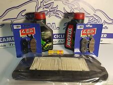 REPLACEMENT KIT SYM CITYCOM 300 OLIO MOTUL FILTER PADS BRAKES FRONT REAR 2010