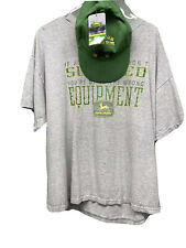 Mens John Deere T Shirt Size Xl With Adjustable New Hat