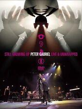 Peter Gabriel - Still Growing Up Live  Unwrapped (DVD, 2005, 2-Disc Set) NEW!