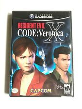 Resident Evil Code Veronica X Black Label Mint Disks Gamecube + Free Shipping!