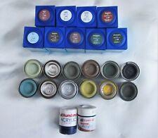 Job lot of 23 x Revell Humbrol Enamel Paints